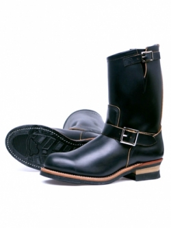 RED WING 9268 Engineer Boots ブラック・クロンダイク 茶芯