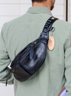 エトフ別注 KETO ALL BLACK FJ SMALL BAG