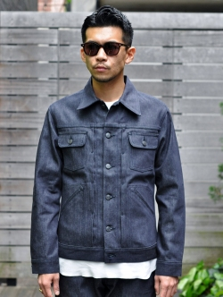 OCEANS掲載 BLANCK DENIM JACKET