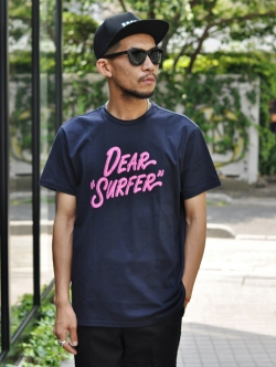 TURN ME ON  DEAR SUFFER TEE NAVY