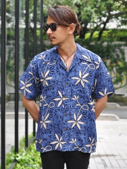 AVANTI SHIRT BLUE HAWAII - BLUE