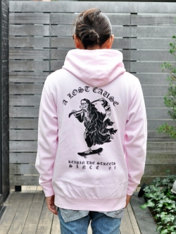 A  LOST CAUSE PULLOVER PARKA PINK