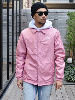 NIKE SB Shield Coaches Jacket  ROSE