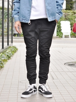 ZANEROBE Sureshot Jogger Pant Black JAPAN MODEL