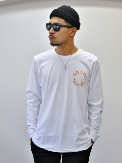 Rolla's Fire Circle L.S TEE White