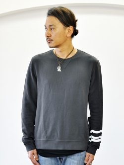 Sol Angeles Essential Crew Sweat BLACK