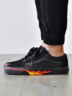 VANS LIMITED FLAME WALL OLD SKOOL