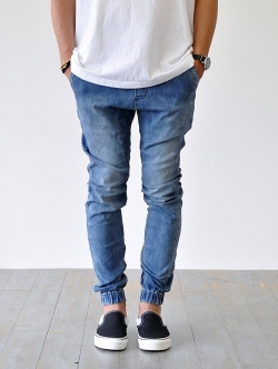 ZANEOBE SURESHOT JOGGER DARK BLUE DENIM