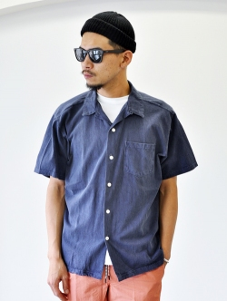 GOOD ON SAFARI掲載 S/S OPEN TEE SHIRTS NAVY