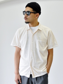 GOOD ON SAFARI掲載 S/S OPEN TEE SHIRTS NATURAL