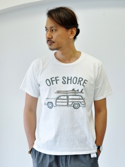 OFFSHORE GO SURF TEE
