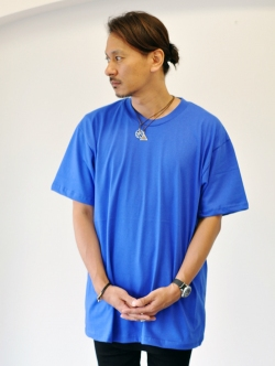 Upcycle Heavy Weight Crew Neck Tee BLUE