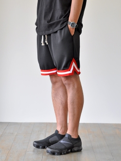 EPTM BASCKET BALL SHORTS RED/BLACK SALE