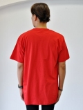 Upcycle Heavy Weight Crew Neck Tシャツ RED 再入荷