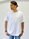 Upcycle Heavy Weight Crew Neck Tシャツ WHITE 再入荷