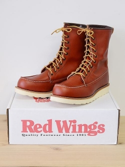 "RED WING 8877 Irish Setter / 8"" Moc-Toe 限定復刻販売品"