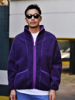 SUNNY SPORT Fleece Jacket Purple