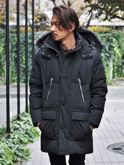 Karl Lagerfeld   QUILTED PUFFER DOWN JACKET