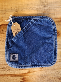 UBI-IND DENIM POT HOLDER / TRIVET