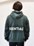 FOG - Fear Of God Essentials Pullover Hoodie D-GREEN 最終入荷