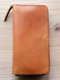 CROSSED ARROWS  Studded LONG WALLET Light Brown  TYPE 1