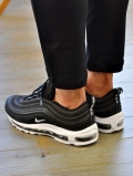 NIKE AIR MAX 97 BLACK/WHITE LIMITED