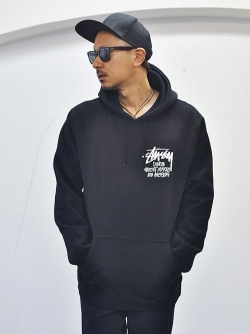 STUSSY DOVER MARKET LOS ANGELES 限定販売  PULLOVER BLACK