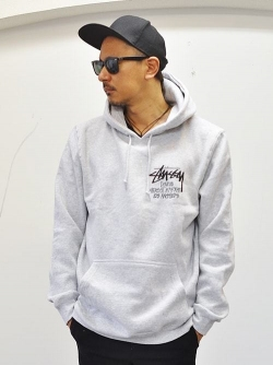 STUSSY DOVER MARKET LOS ANGELES 限定販売  PULLOVER GREY