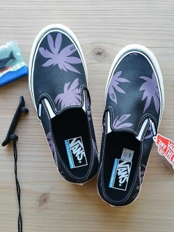 Vans USA Surf Summer Leaf Slip-on