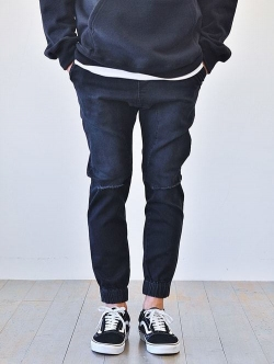 ZANEROBE Sureshot Jogger Damage Black 日本モデル ダメージ