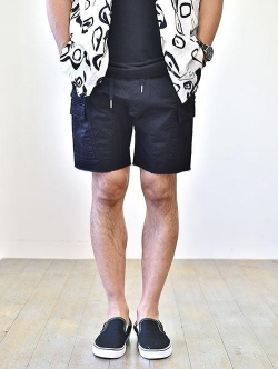 ZANEROBE Sureshot Light Cargo Short  Black