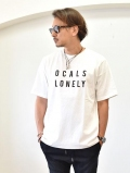 LONE WOLFS SURF OCALS LONELY TEE WHITE