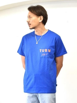 TURN ME ON THE SUNDAY S/S TEE BLUE