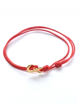 WE ARE ALL SMITH INFINITY BRACELET RED