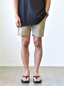 Charlie Holiday   Rolled Leg Shorts KHIKI