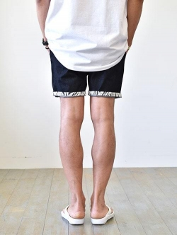 Charlie Holiday   Rolled Leg Shorts BLACK DENIM