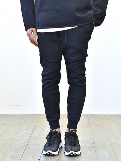 NIKE TECH FLEECE JOGGER PANT BLACK