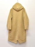LAST HEAVY Hooded Fishtail - Tan Sherpa