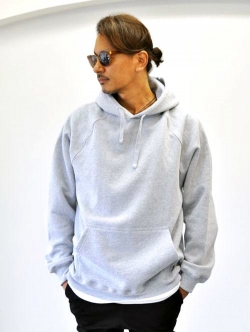 Upcycle 15.5oz Heavy Weight Pullover Parka Grey 再入荷