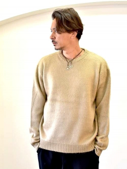 TOWN CRAFT KNIT BEIGE
