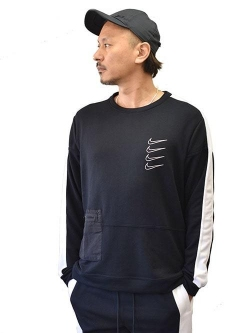 NIKE DRI-FIT PX Fleece Crew Neck