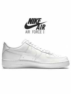 NIKE AIR FORCE 1 LO 07 WHITE 25周年記念モデル