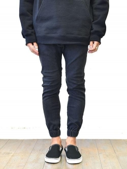 ZANEROBE SURESHOT DENIM JOGGER MILLED BLACK JAPANモデル