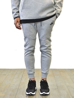 NIKE TECH FLEECE JOGGER PANT GREY 細めのモデル
