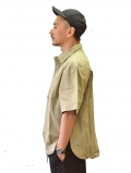 ONYRMRK Oversized Shirt  Light Olive