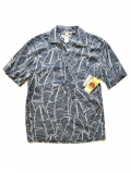 Robert J Clancey  Tropical Reef Shirts Navy