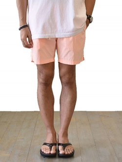 SCOTCH&SODA NEON SHORTS ORANGE