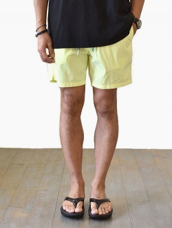 SCOTCH&SODA NEON SHORTS YELLOW