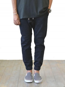 ZANEROBE SURESHOT DENIM JOGGER BLACK WASH
