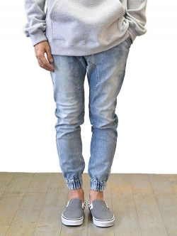 ZANEROBE Sureshot Denim jogger  Mid Blue ジャパンモデル 再入荷